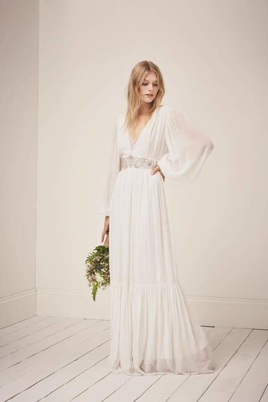 vestido de noiva modelo simples para casamento dia 57