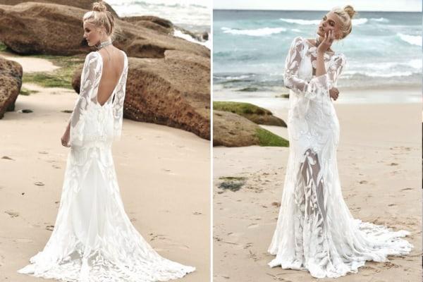vestido de noiva modelo simples para casamento dia 59