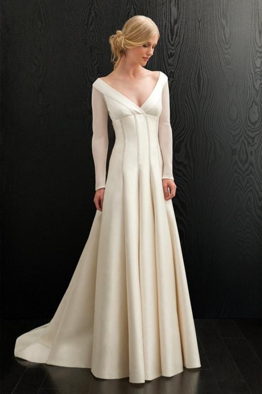 vestido longo para noiva simples 14