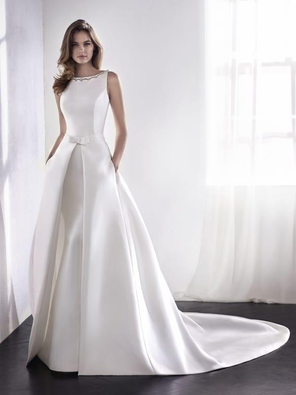 vestido longo para noiva simples 16
