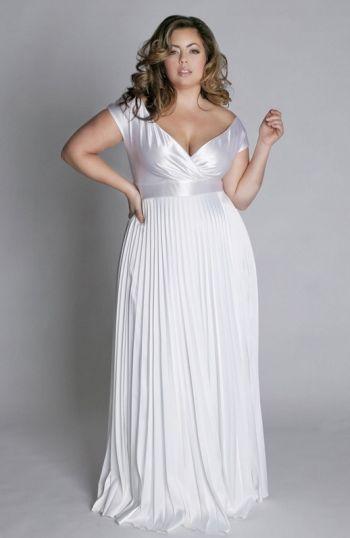 vestido para noiva plus size 53