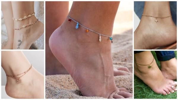 modelos de tornozeleira feminina
