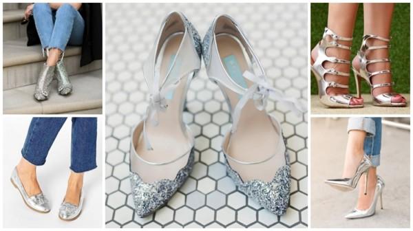 Sapato Prateado – Como Usar & Arrasar com Seus Looks Incríveis!
