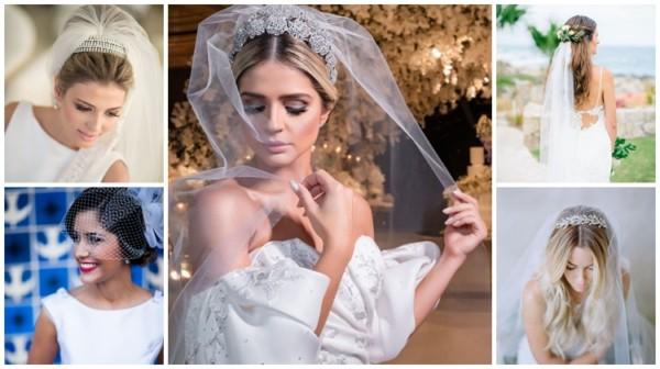 Véu de noiva – Como usar? + 10 tipos e modelos diferentes!