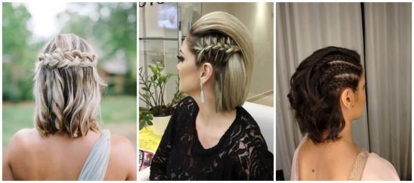 =penteados de casamento para madrinhas de cabelo curto