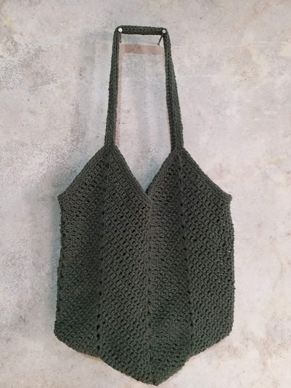 bolsa feminina de crochê
