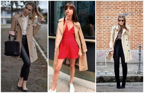 modelos de casacos trench coat