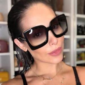 como usar óculos de sol feminino grande