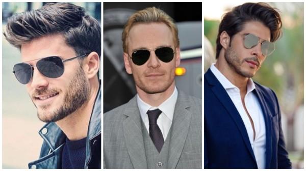 modelos de óculos de sol aviador masculino