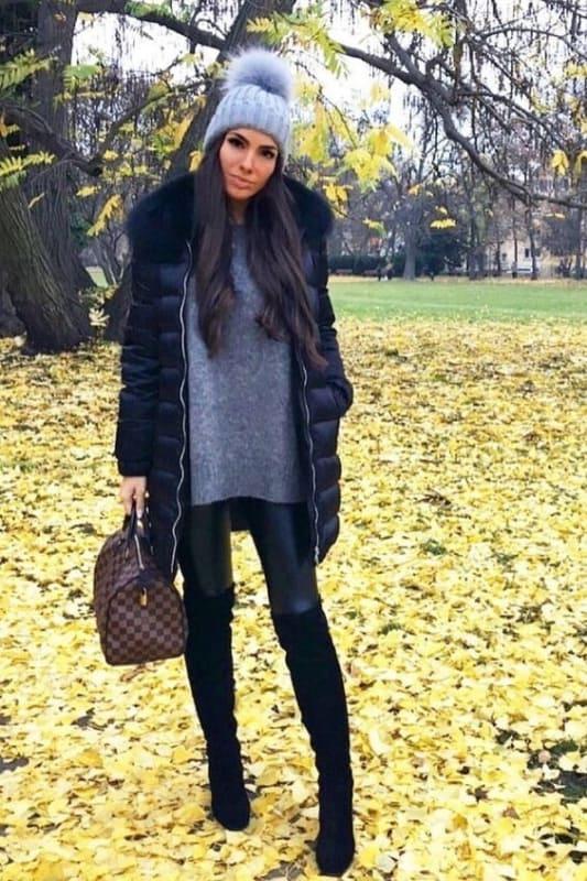 look com casaco doudoune