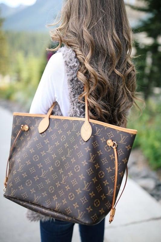bolsa sacola Louis Vuitton