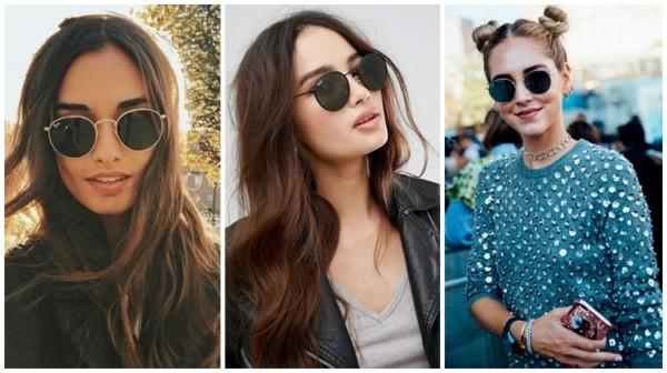 modelos de óculos de sol feminino redondo
