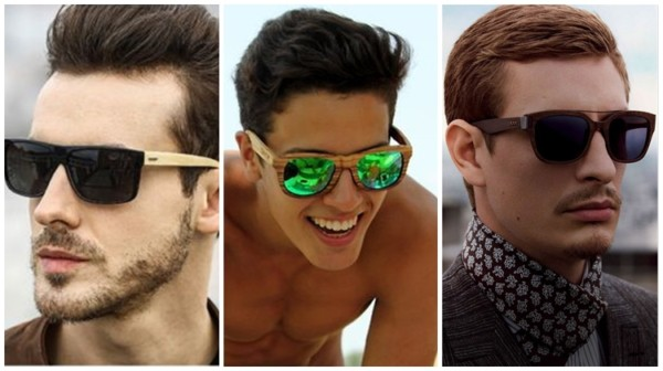 modelos de óculos de madeira masculino