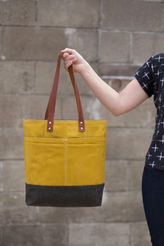 modelo de bolsa pequena estilo sacola
