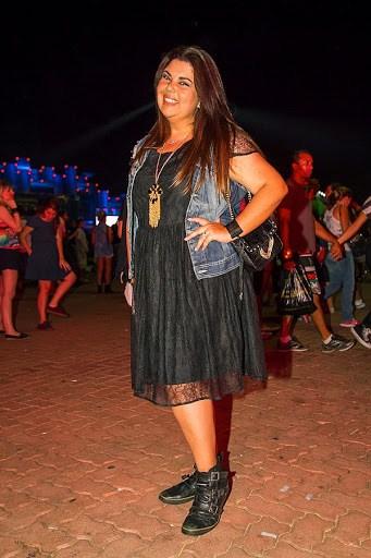 look plus size com vestido para Rock in Rio