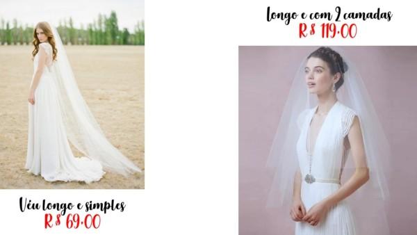 modelos e lojas para comprar véu de noiva