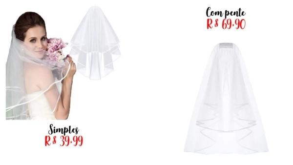 onde comprar véu de noiva