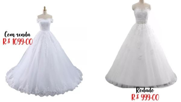 modelos e preços de vestido de noiva princesa