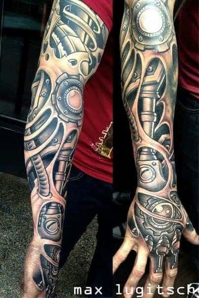Braço mecânico cyborg