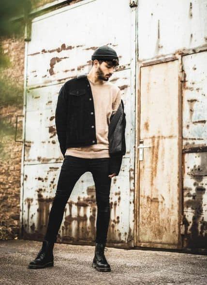 Como usar jaqueta jeans masculina