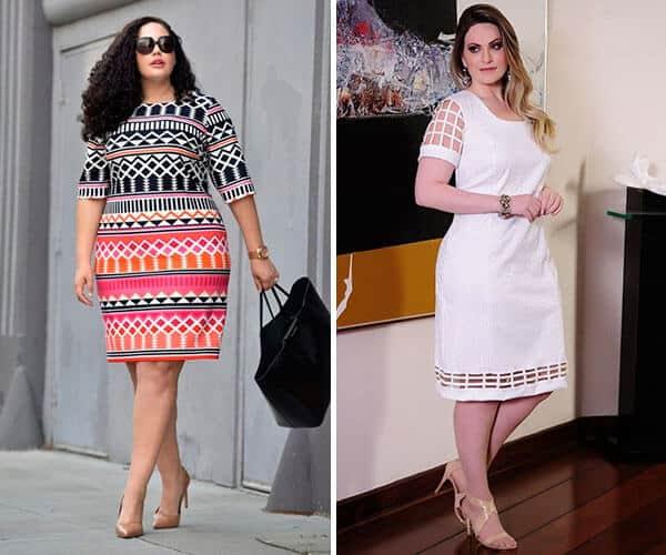 Dois modelos de vestidos lindos para meninas plus size