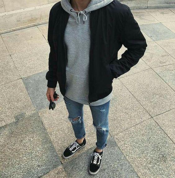 Jaqueta de sarja como usar