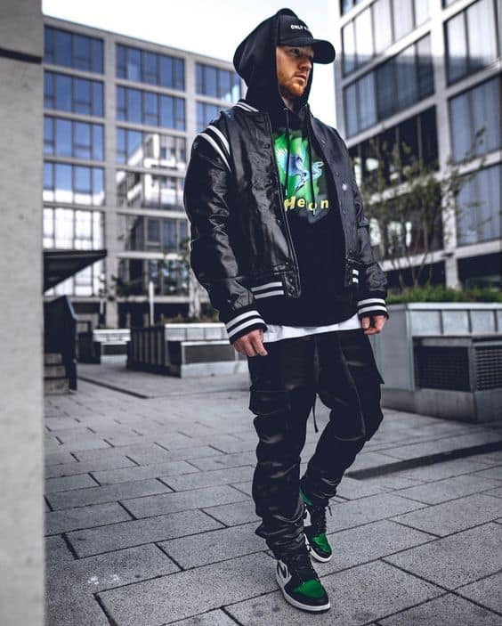 Jaqueta masculina nylon corta vento