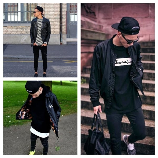 Jaqueta preta masculina como usar