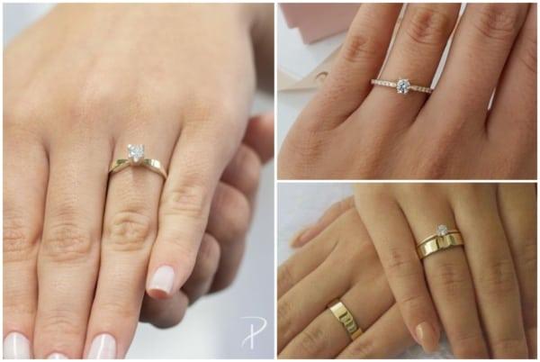 Modelos de anel solitário 3
