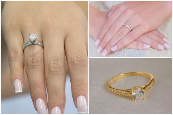 Modelos de anel solitário 4