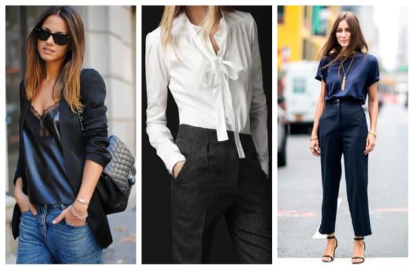 Modelos de blusas para trabalhar