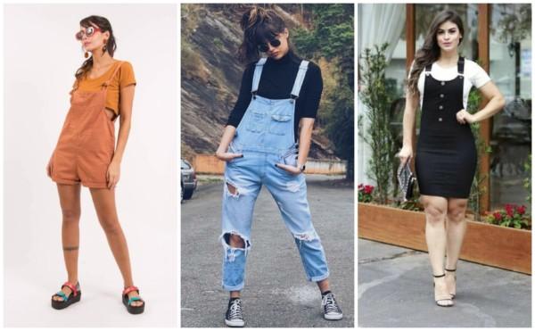 Modelos de jardineira feminina 1