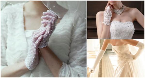 Modelos de luvas de noiva 1
