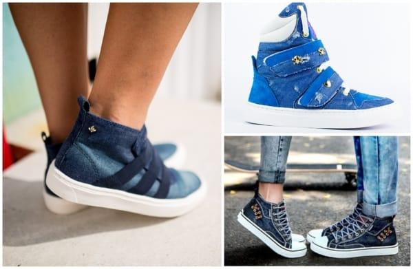 Modelos de tênis jeans feminino 2