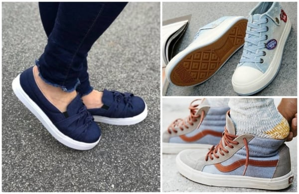 Modelos de tênis jeans feminino 4