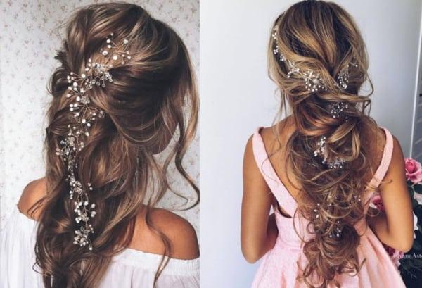 Penteados para madrinhas em cabelos longos 27