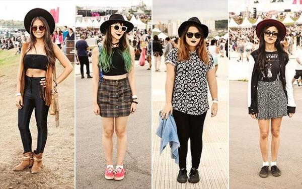 Quatro ideias para usar chapéu no look para o Lollapalooza