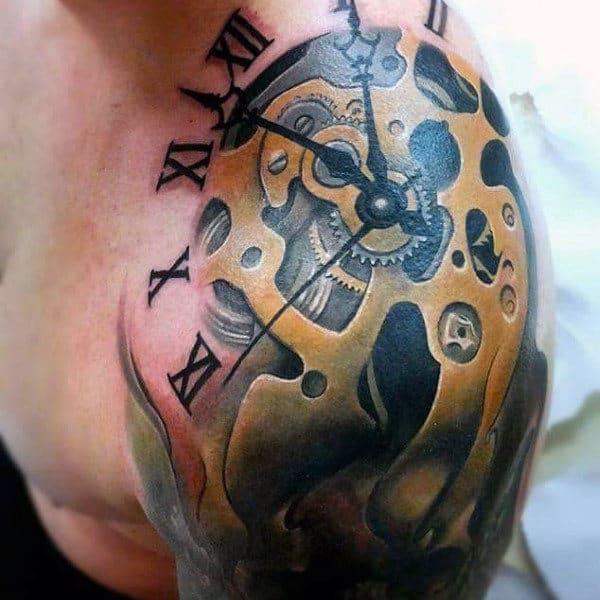 Tatuagem Braço Mecânico dicas