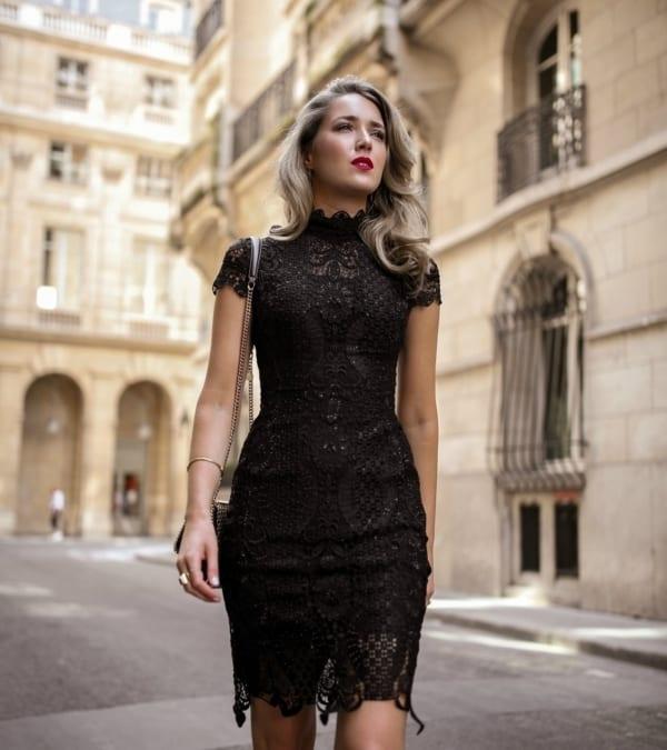 vestidos lindos rendados