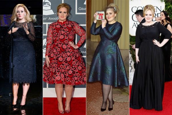 Vestidos lindos plus size de Adele