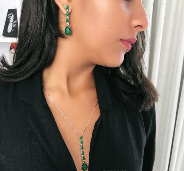 Brinco de esmeralda