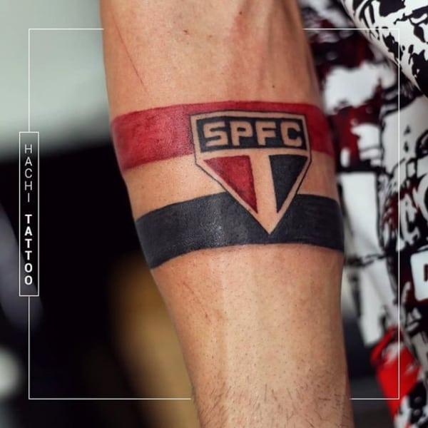 como fazer uma tattoo do SPFC