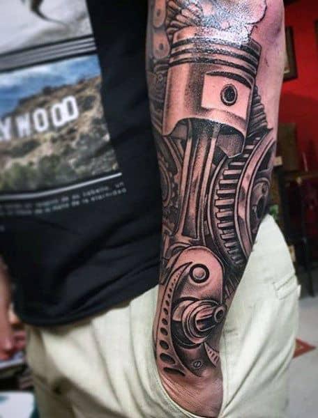 cyborg tattoo