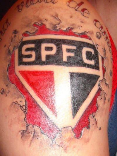 ideia de tatuagem São Paulo no braço