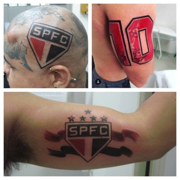 ideias de tattoo do São Paulo