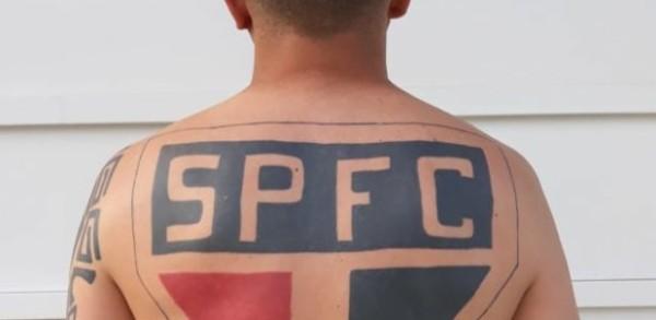 ideias de tatuagem São Paulo nas costas