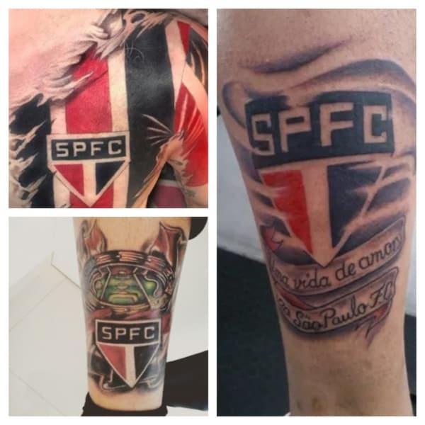 ideias de tatuagem do São Paulo