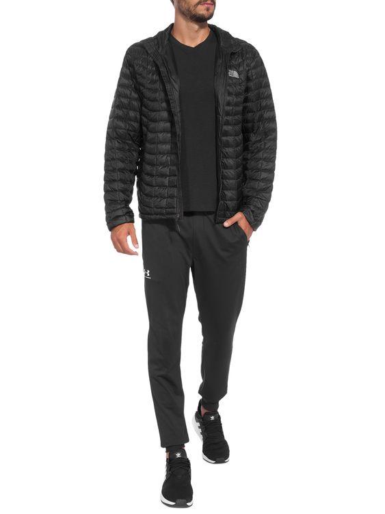 jaqueta preta de nylon