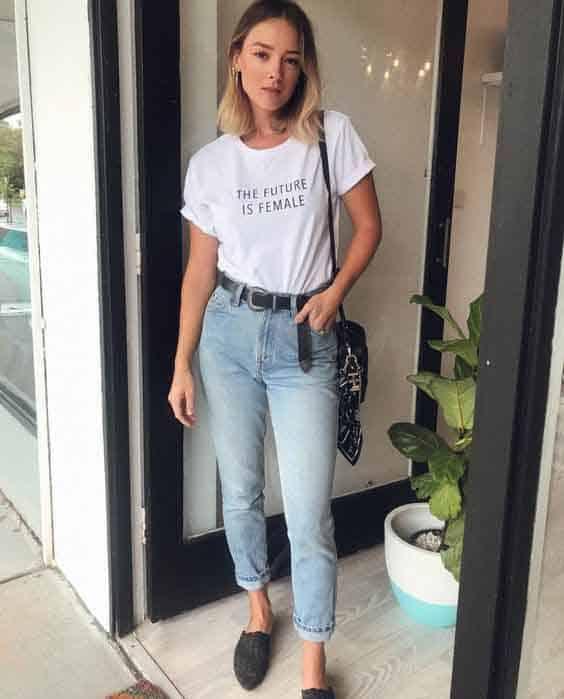 looks para aniversario a tarde com jeans