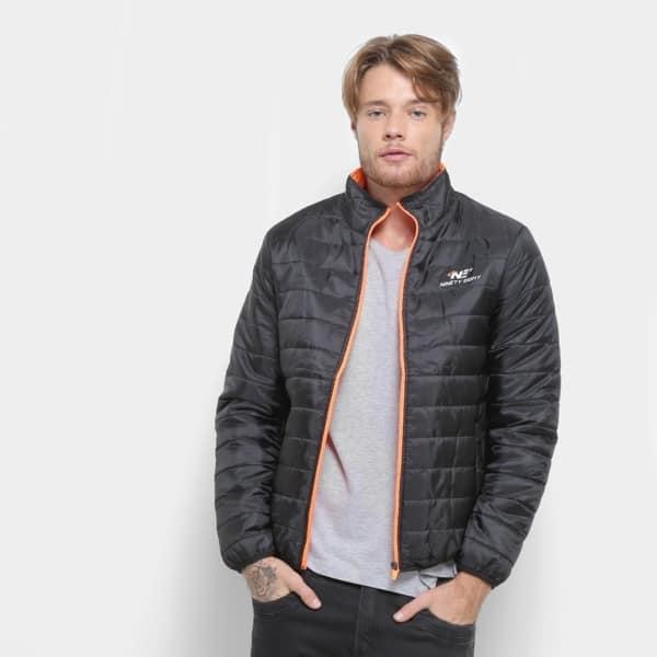 modelo de jaqueta de nylon